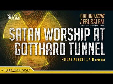 Satan Worship at the Gotthard Tunnel