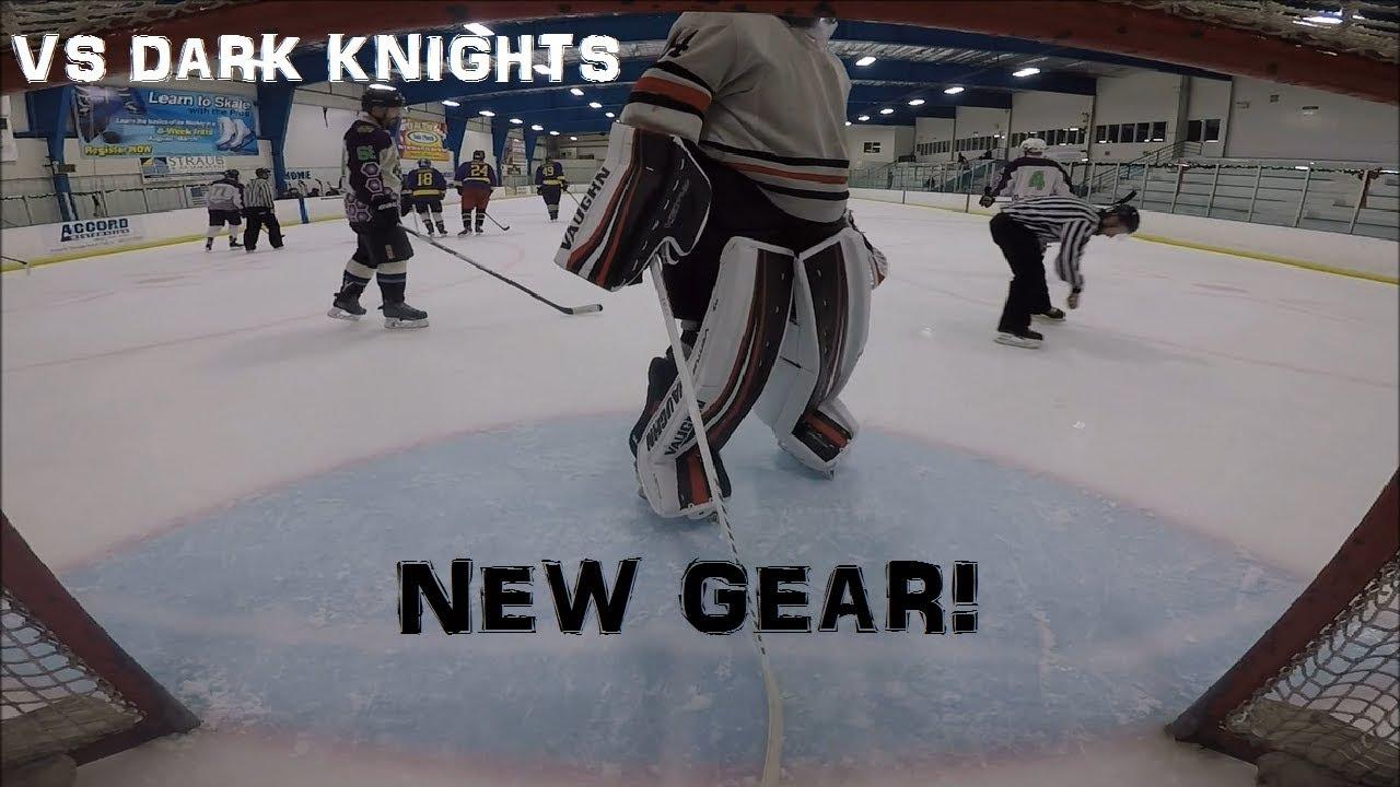93dea6de9b9 Vaughn Ventus SLR Pro Leg Pads   Glove   Blocker Combo. Hunter14 Hockey