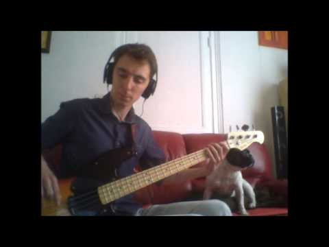 Bruno Mars - Locked out of heaven - Bass cover