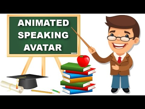 How to Make Free 2D/3D Animation Character Speaking Avatar Movie?Top Animation Presentation Video