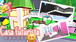 Remodeling My Futuristic House 🏡 - adopt me Roblox
