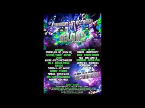 DJ Detonate GM-MC B2B Mc Flex @ Reload 1.10.2016