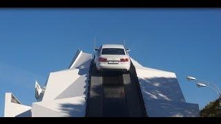 Audi A6 экстремальный подъём.Anton Avtoman.