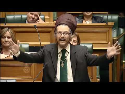 Rastafari Member Of Parliament In New Zealand