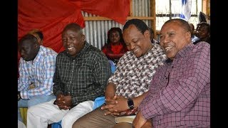 Jubilee and Wiper MPs dare DP Ruto to resign if he's dissatisfied with the fight against graft