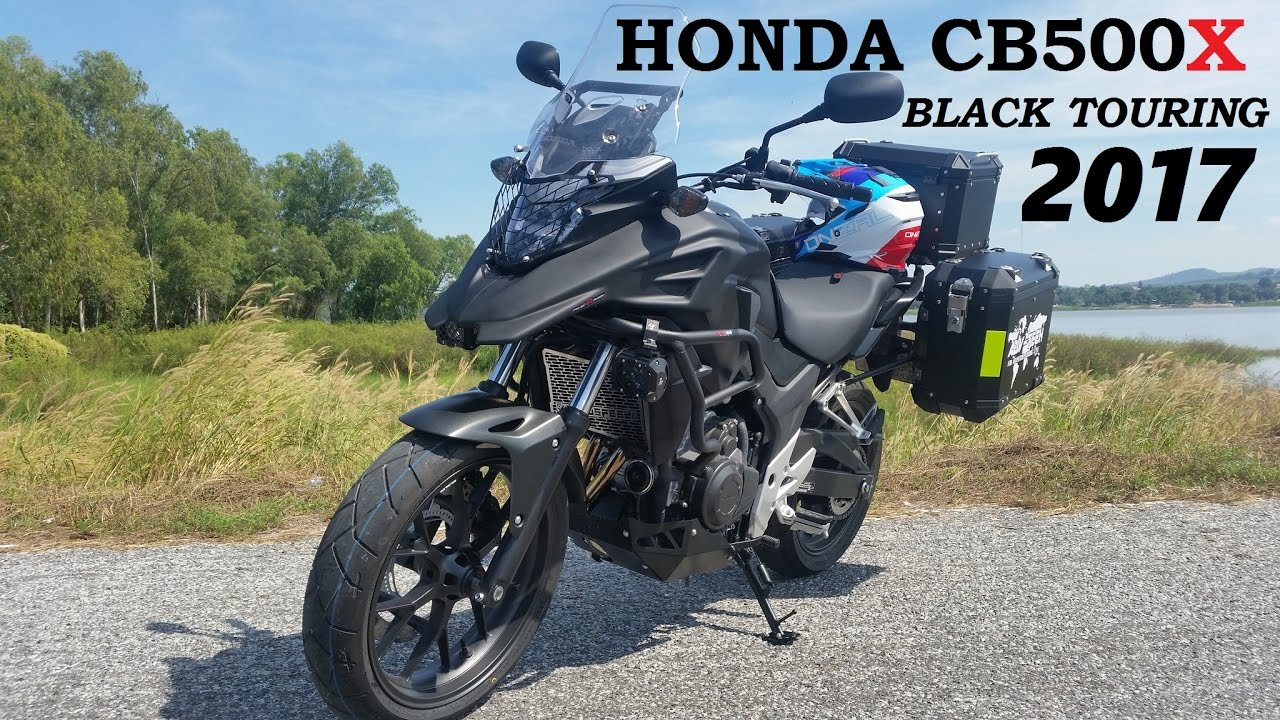 Honda CB500X 2017 Black Touring Edition | Doovi