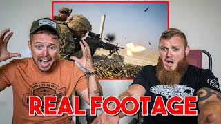 Reviewing Intense Combat Footage - Legit Firefight