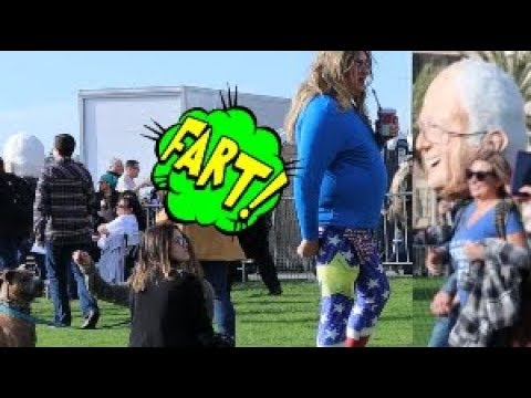 The Sharter Wet Fart Prank at Bernie Sanders Rally San Diego