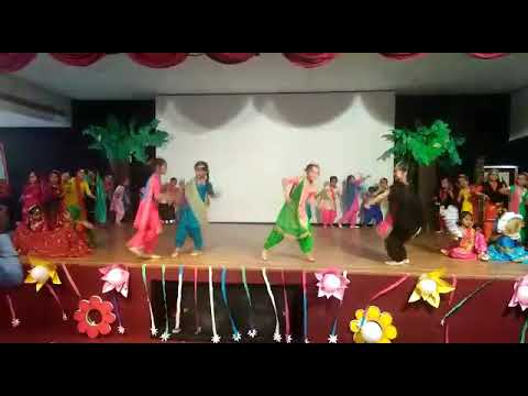 BHANGRA PERFORMANCE By STUDENTS Of ROYAL CONVENT SCHOOL ON CONVOCATION CEREMONY