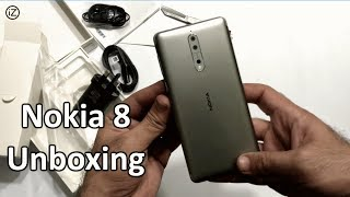 Nokia 8 Unboxing & Review! Pakistan | Retail Unit (4k) {Urdu/Hindi)