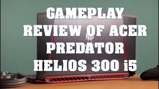 Gameplay power review of Acer predator helios 300 i5 processor Flipkart Model all in  ultra  setting