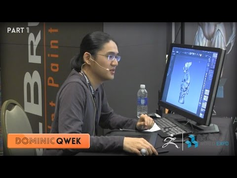 ZBrush 3DPWE Demonstration with Dominic Qwek Part 1