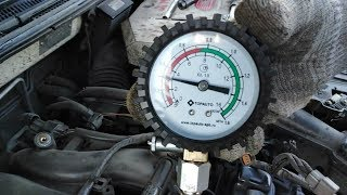 замер компрессии 4G93 GDI, 30 000 после ремонта!!!