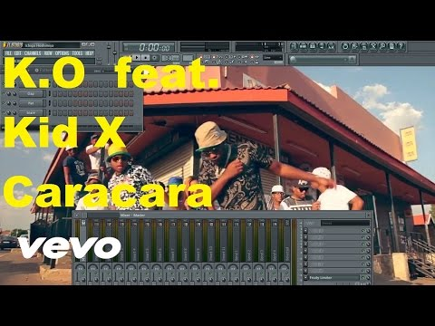 K.O - Caracara ft. Kid X FL Studio Remake Tutorial + FLP