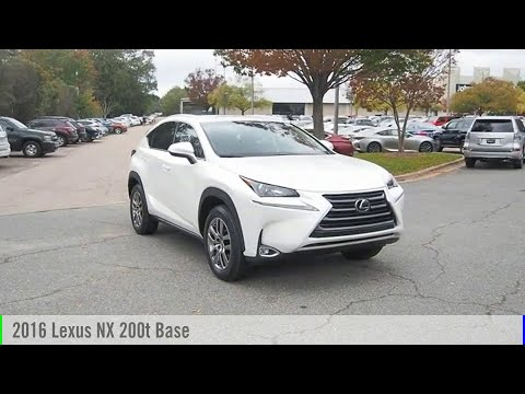2016 Lexus NX 200t for sale in Raleigh NC