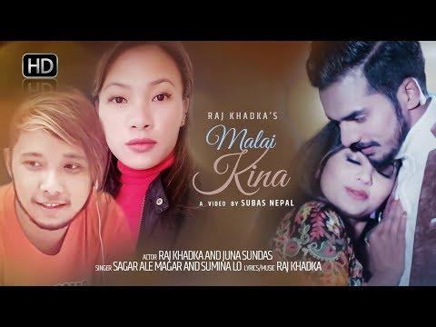 Malai Kina   Sagar Ale Magar And Sumina Lo New Nepali Valantine Special Song 2018