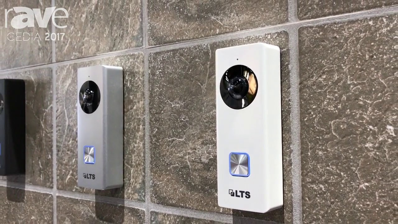 CEDIA 2017: LTS Discusses Network Video Doorbell Camera - 2MP