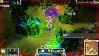 League Of Legends - Season 4 - Jungle - Cassiopeia - Ganking - Clear Time