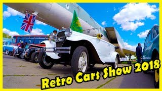 """Retro Cars Show """"Old Car Land"""" 2018.  Vintage Cars Review. Best Classic Cars"""