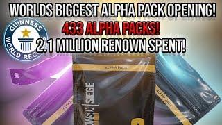 Ledgendary Alpha Packs