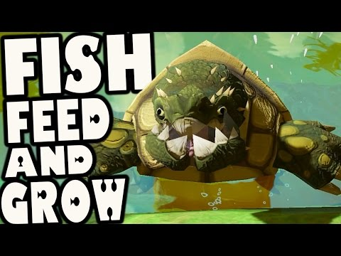 Fish Feed and Grow - SWAMP LURKER TURTLE & HAMMER HEAD SHARK (Update Gameplay)