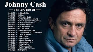Johnny Cash Greatest Hits 2021 - Johnny Cash Best Songs