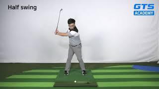 골프 스윙의 정석 | 미들 아이언샷 연습 스윙 영상 -…