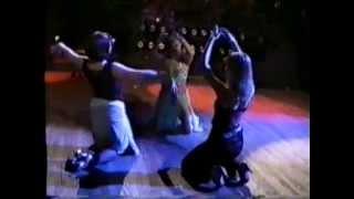 Танец живота (belly dance), экспресс-урок Инны Михедовой в ночном клубе