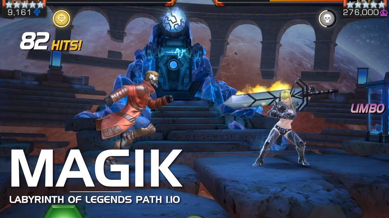 Labyrinth of Legends Path 1 10: Magik   Marvel Contest of Champions