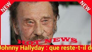 Johnny Hallyday : que reste-t-il de la fortune de la star ?