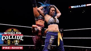 Mia Yim nearly takes out NXT UK Champion Kay Lee Ray: WWE Worlds Collide Pre-Show, Jan. 25, 2020