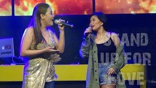 KATRINA VELARDE & LAARNI - Stand Up For Love (The Aura Club Cabanatuan City   November 1, 2018)