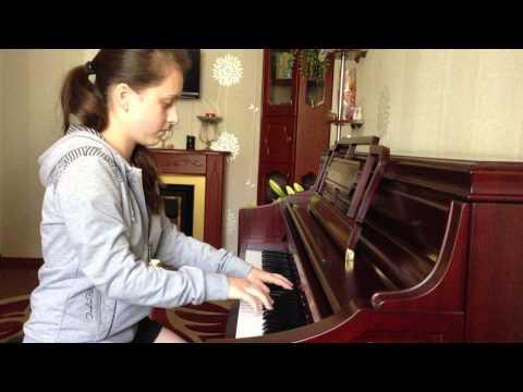 Волшебная игра на пианино!!!