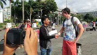 Being Interviewed On The Street! - Kota Tua, Jakarta Vlog