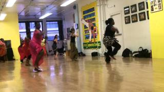 West African Dance (Guinea)Class New York City Dun Dunba