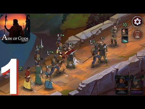 Ash of Gods: Tactics - Gameplay Walkthrough Part 1 (Android, iOS Gameplay)