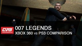 007 Legends PS3 vs Xbox 360 Comparision