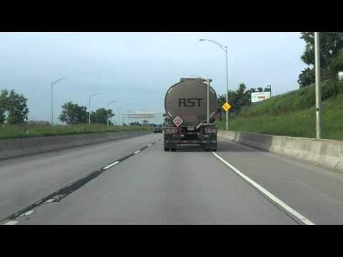 Souligny Avenue Expressway southbound [ALTERNATE TAKE 2]