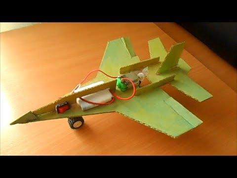 Как сделать летающий самолет из дерева