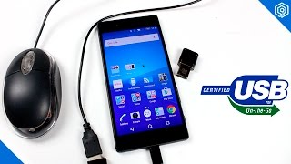 Como activar el USB OTG en tu Xperia Z5