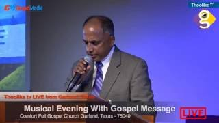 Musical Evening With Gospel Message Day - 2