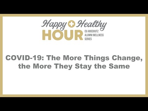 COVID-19: The More Things Change, The More They Stay The Same