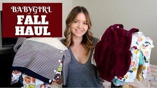 Baby Girl Fall Haul | Fall Haul 2018 | Tiffany Boulanger