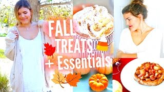 Healthy Fall Treats, Outfit Inspiration, + Essentials!