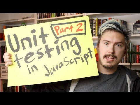 Unit testing in JavaScript Part 2 - Your first tests
