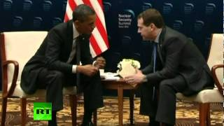 On Monday while President Obama was taking part in a global nuclear...