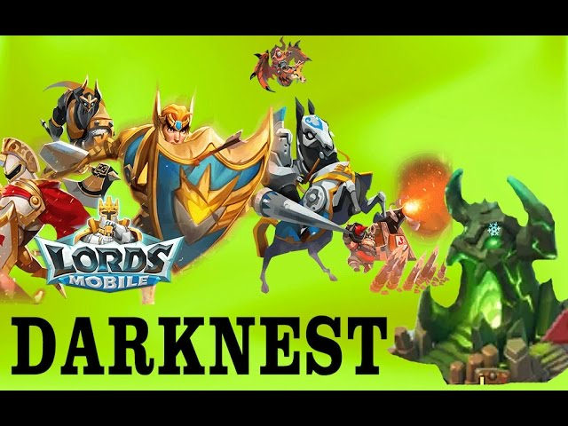 Lords Mobile Lets Kill Level 5 Darknest And Open Rewards Youtube