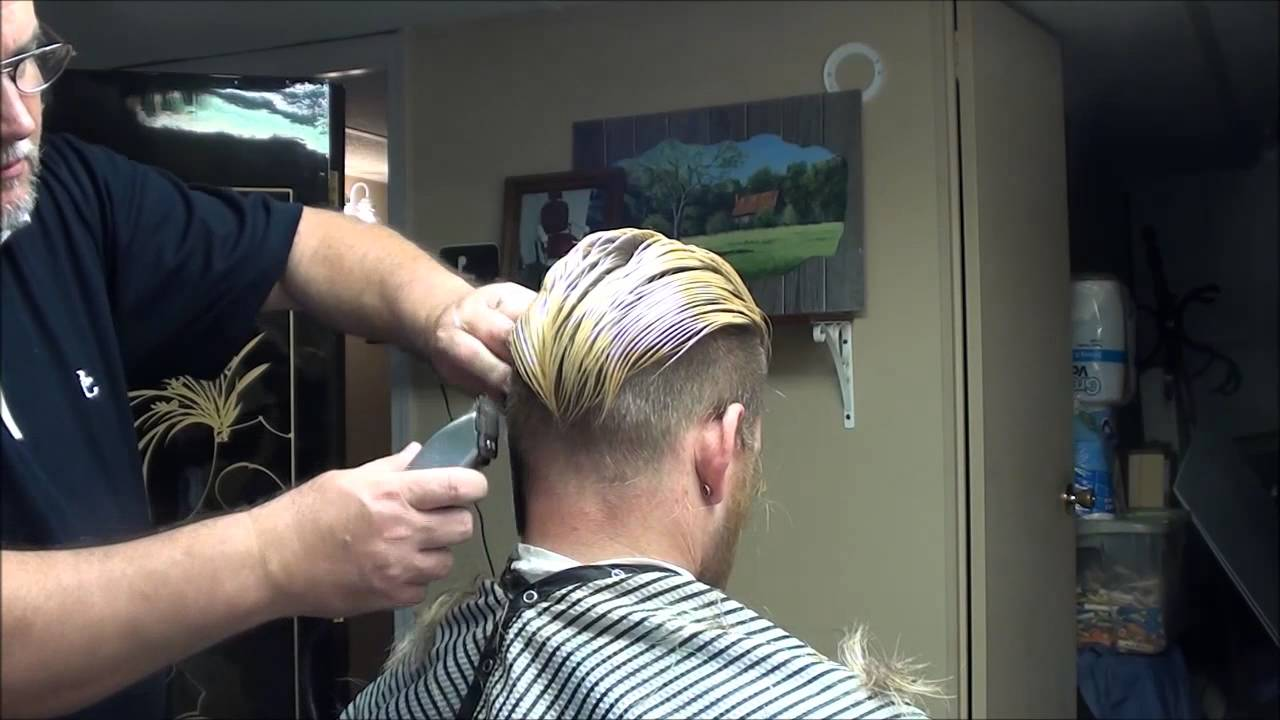 "O Shopping Hair Styler: ""Michael Pitt Hair Style Cut"" At The Barber Shop!!"