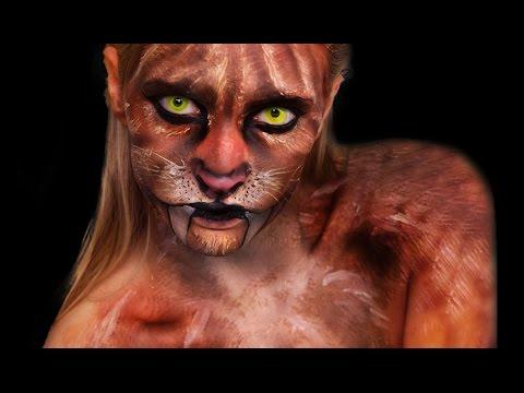 Sabertooth Tiger - Makeup Tutorial!