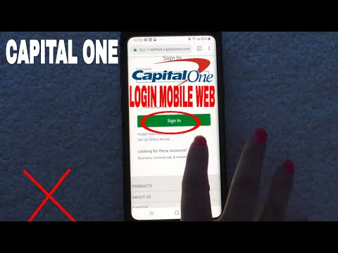✅  How To Login Register Lost Password Capital One Bank Mobile Website 🔴